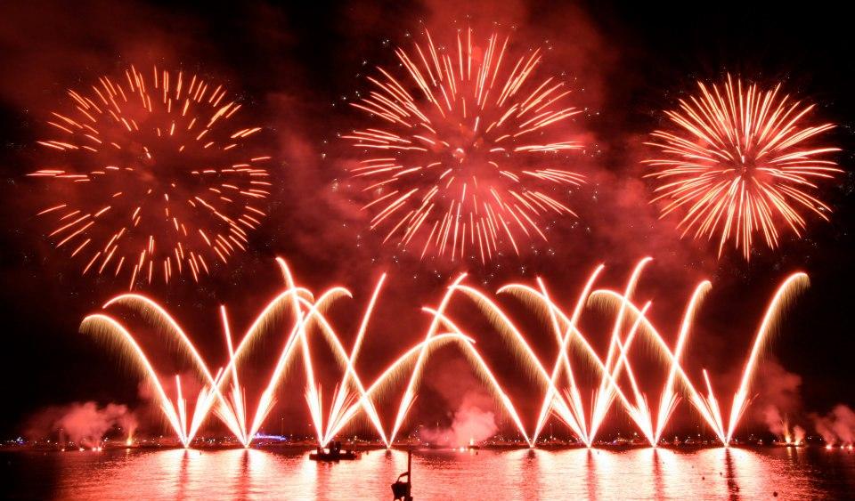 giochi di fuochi artificio