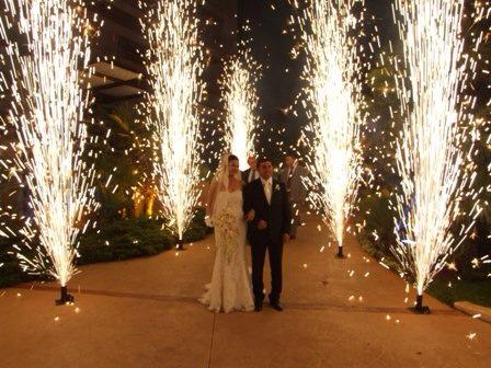 fuochi artificio per matrimoni